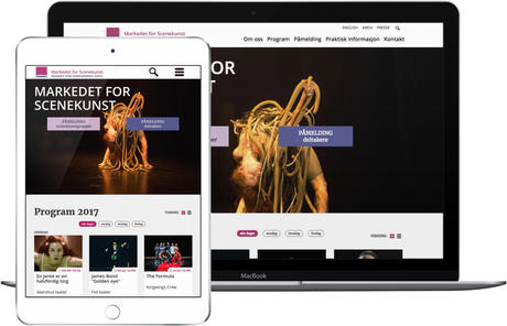 skjermbilde fra www.markedet.org