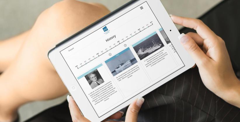 skjermbilder fra www.klavenessmarine.com
