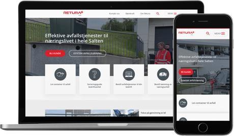 skjermbilde fra www.returairis.no