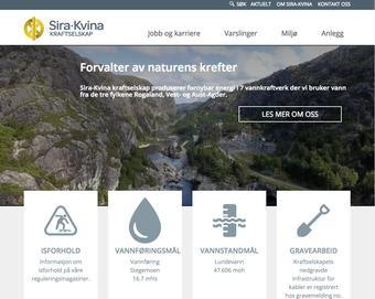 skjermbilde fra www.sirakvina.no