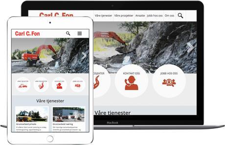skjermbilde fra www.carlcfon.no