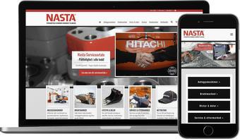 skjermbilde fra www,nasta.no