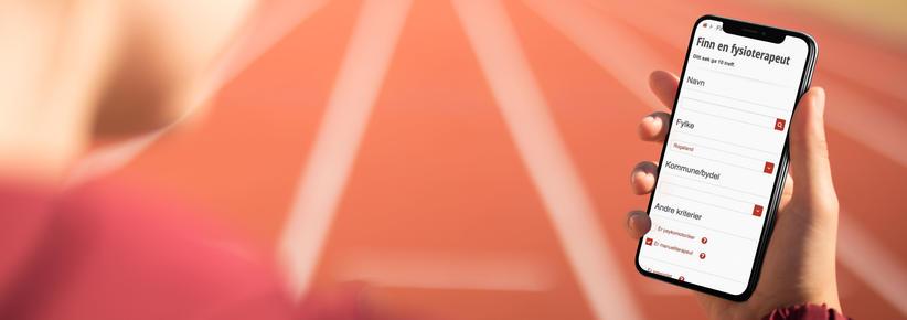 skjermbilde fra fysio.no
