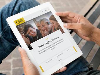 skjermbilde fra www.humanrightshouse.org