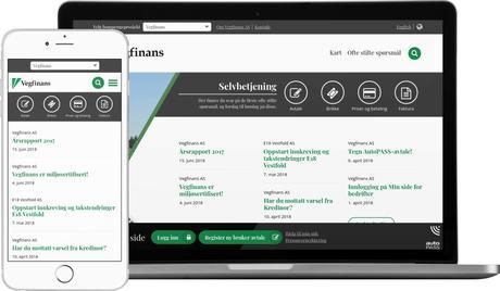 skjermbilde fra www.vegfinans.no