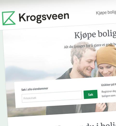 skjermbilde fra krogsveen.no