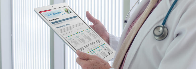 skjermbilde fra www.ergoterapeuten.no