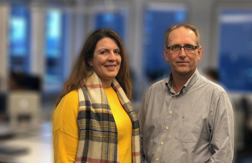 Marianne Blindheim Eriksen og Kristian Susnic