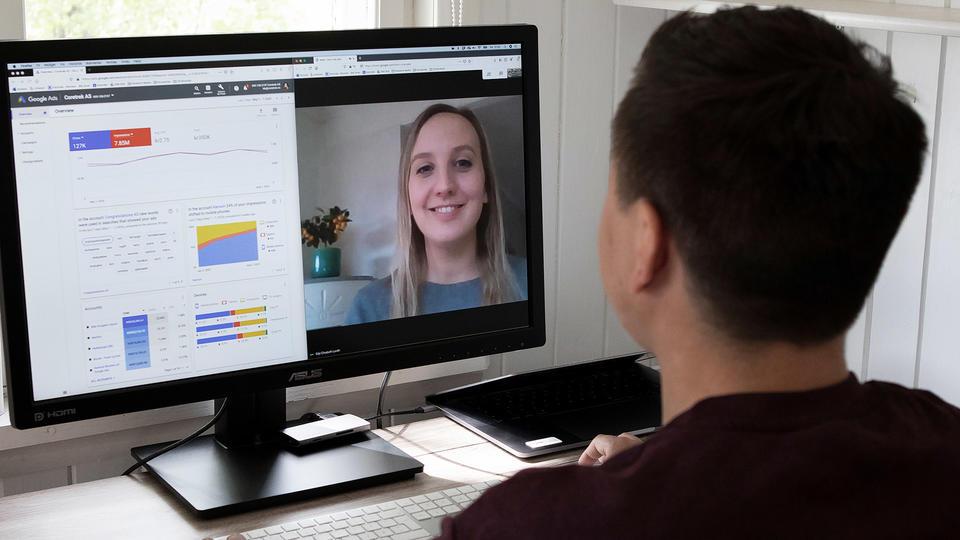 Videomøte om Google Ads i CoreTrek