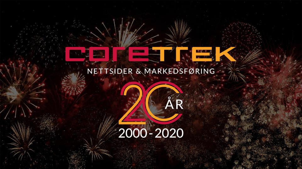 Coretrek fyller 20 år med fyrverkeri