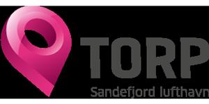 Logo Torp Sandefjord Lufthavn