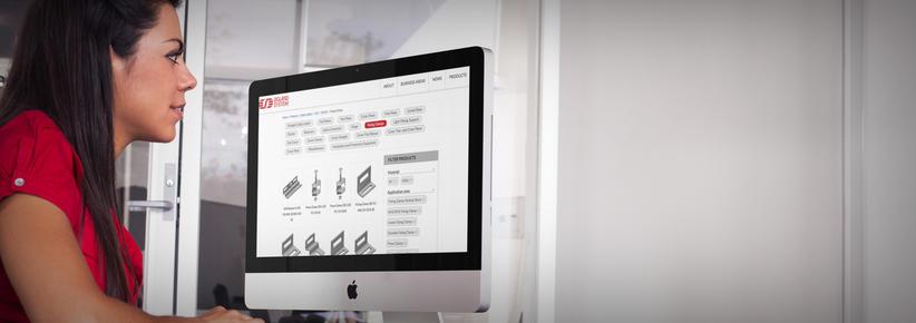 skjermbilde av produktvelger